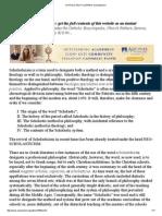CATHOLIC ENCYCLOPEDIA_ Scholasticism.pdf