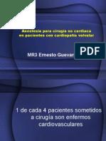 Anestesia Para Cirugía No Cardiaca