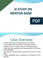 Menton Bank Ppt