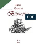Buxi Revista de Bibliofilia 3