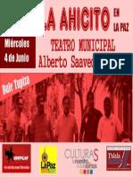 Afiche Modelo Palala Ahicito