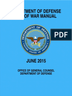 Law of War Manual June 2015