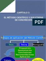 Cap III_El Método Científico y Sus Etapas de Concreción