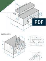 Presentacion en PowerPoint con Ejercicios Cad 3d