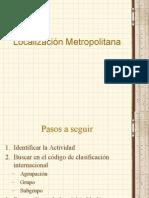 6 CLASE Localizacion Metropolitana (1)