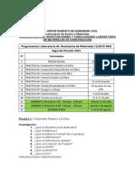Investigaciones y Conclusiones, Resistencia de Materiales II