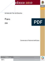 conservatorio nacional piano