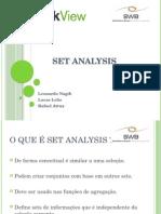 A Present a ç Ão Set Analysis