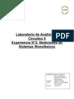 laboratorio de mediciones de sistemas monofásicos