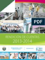 Suplemento Rendicion Ctas MINSAL 2013 2014