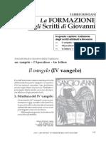 12_5 La FORMAZIONE degli Scritti di Giovanni