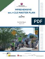 "Phoenix, Arizona's ""Bicycle Master Plan"""