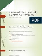 Curso Administración de Centros de Cómputo-1