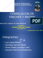 Correlacion de Fancher y Brown