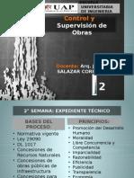 CLASE 2 DE SUPERVISION DE OBRAS