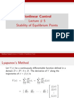 Lect_5 Stability of Equilibrium Points