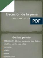 Ejecución de La Pena-UNIDAD 18