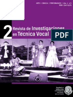 Revista de Investigaciones en Técnica Vocal - Año 2, n2
