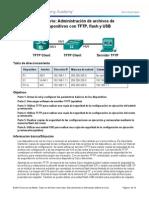 11.4.2.7 Lab - Managing Device Configuration Files Using TFTP, Flash, and USB.pdf