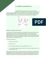 Multivibrador Astable a Transistores