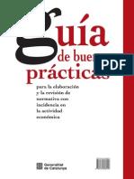 Guia de Buenas Practicas Para La Elaboración y Revisión Normativa