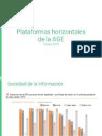 Curso Plataformas Horizontales de la Administración General del Estado. España