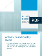 Activity Based Quality