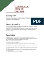 Requisitos Para La Aprobación de Anteproyectos - Municipio de Panama
