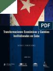 Economic Transformation Institutional Change Cuba Romero