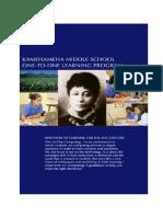 KMS 1:1 Learning Program Guidebook