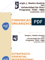 Un Modelo de Gestión de La Comunicación Gerencial