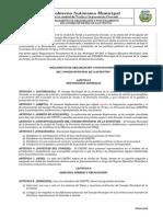 7.1. Reglamento de Organizacion y Funcionamiento Consejo Municipal de La Juventud