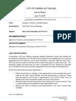 7.D Gann Limit Calculation FY15-16