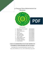 Tugas Kelompok Tutorial 3 Blok 12patofisiologi Gangguan Sistem Muskuloskeletal Dan Macamnya