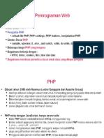 Pertemuan2-PemrogramanWebPHP