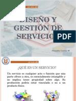 Diseño y Gestión de Servicios