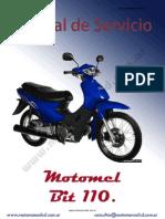 manual de motomel blitz |110