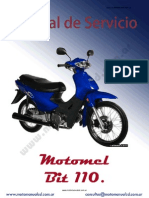 manual de motomel blitz |110