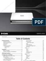 D-Link DAP-1522 wireless router manual