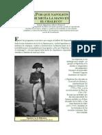 Por Qué Napoleón Se Metía La Mano en El Chaleco
