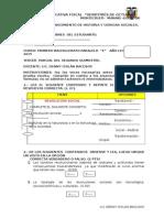 Evaluación Hist c.s 1 Bachill (e)