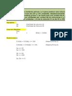 Ejercicios Programacion Lineal 2