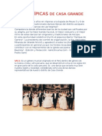 DANZAS , COSTUMBRES Y TRADICIONES DE LA LOCALIDAD Y LA REGION