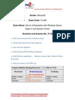 [Braindump2go] Free 74-409 VCE Instant Download (31-40)