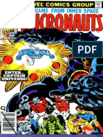The Micronauts 8 Vol 1