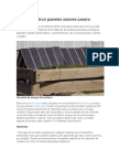 Construir Paneles Solares Casero