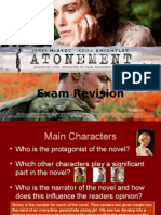 Atonement Revision