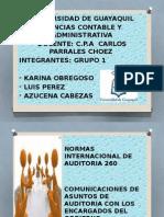 GRUPO 1  NIA 260 DIAPOSITIVAS GRUPO 1 (2).pptx