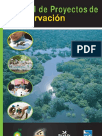 Manual para proyectos de Conservación - Programa de Liderazgo de la Conservación