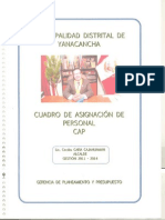 RELACIONES PUBLICAS Municipalidad Yanacancha Cerro de Pasco